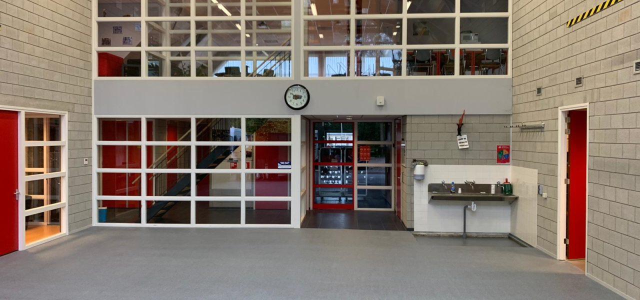 Renovatie uitrukhal brandweer